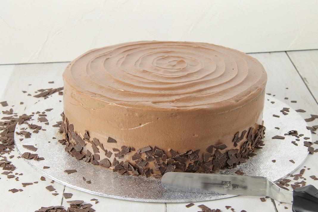 Rezept für Schokoladentorte mit Nutellacreme