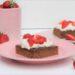 Rezept für Nutella Erdbeerschnitte