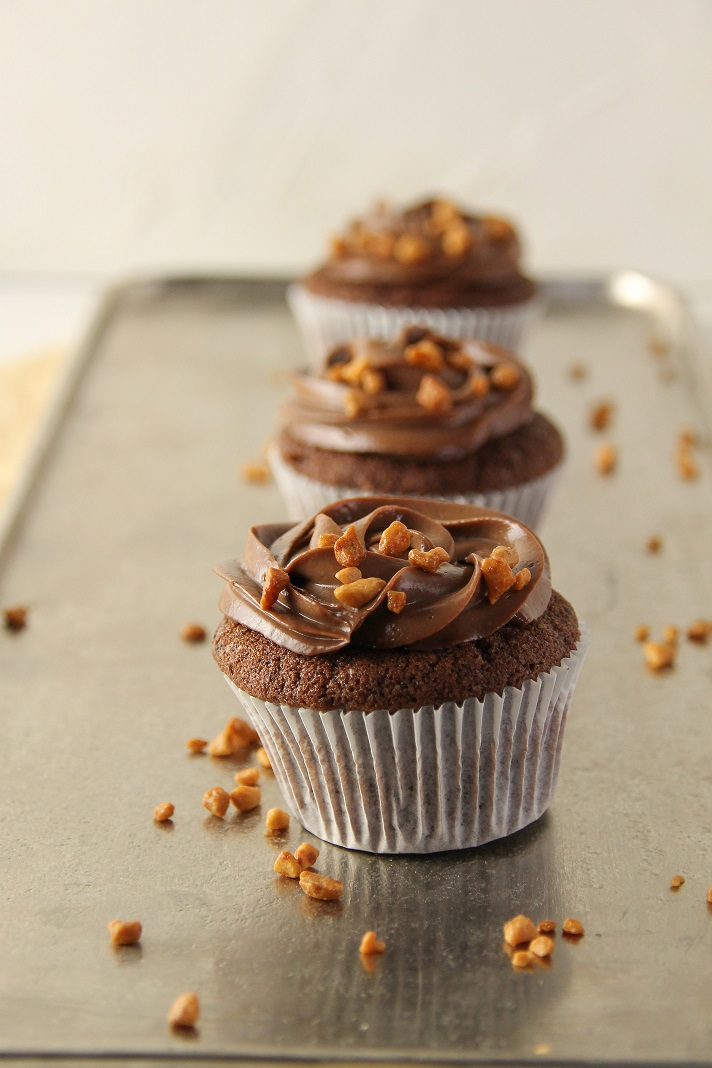 Rezept für Schoko Cupcakes